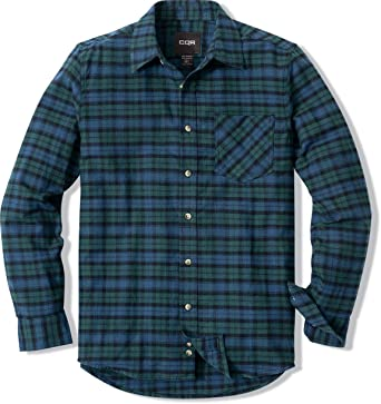 Mens Long Sleeve Flannel Shirt Work n Sport Button Up Down Casual Soft Warm NEW