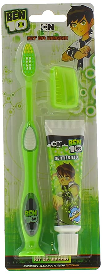 1 opinioni per ROLLY BRUSH SPAZZOLINO BEN 10 +DENT.20ML