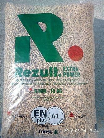 pellets rezult Premium 75 sacos de 15 kg