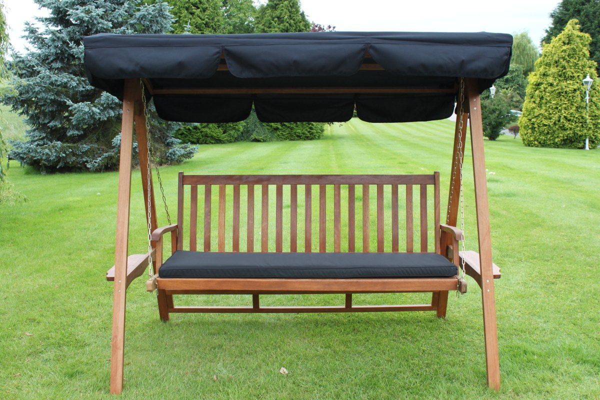 Spare Canopy for a 2 Seater Garden Swing Seat or Hammock in Black Olive Grove