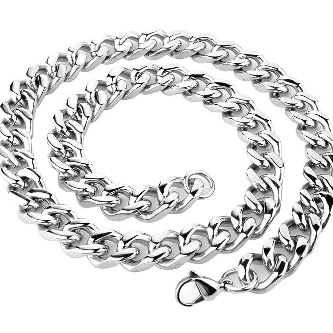 Amazon.com: Fans Jewelry - Collar de acero inoxidable para ...