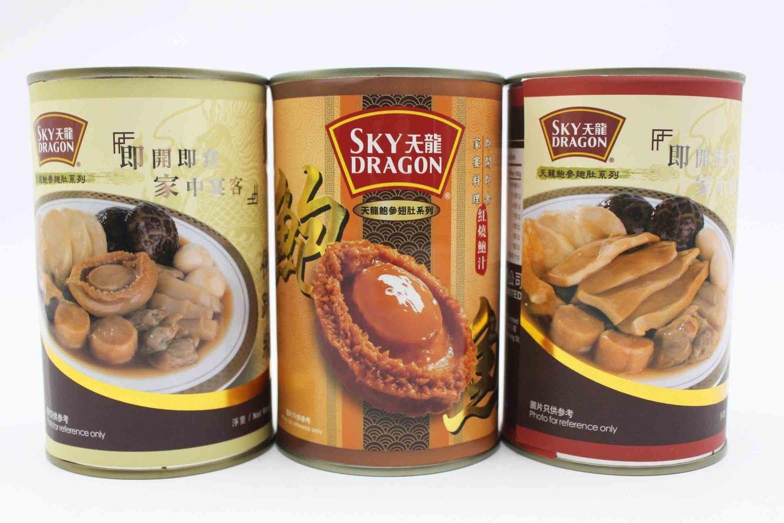 Set-10 Canned abalones x Seafood Fotiaoqiang x Abalone Fotiaoqiang Free Airmail