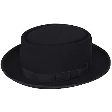 ae71d9ca Hats.Com Men Danger Pork Pie - Exclusive at Amazon Men's Clothing store: