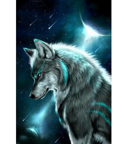 Sunnymi Weihnachten 5d Diamond Painting Kürbiswagen Bär Wolf Gehorsam Hund Eule Kreuzstich Livingart Und Weise Geklebte Stickerei Diy