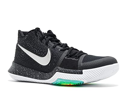 8329ff6245ee Image Unavailable. Image not available for. Color  Mens Nike Kyrie 3  Basketball Shoes Black Ice - 852395 018 ...