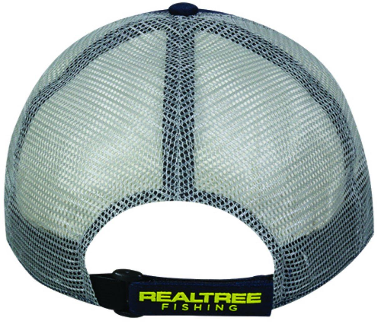 b1c6c889 Amazon.com: Outdoor Cap Men's Realtree Fishing Logo Cap, Navy/Gray, One  Size: Sports & Outdoors
