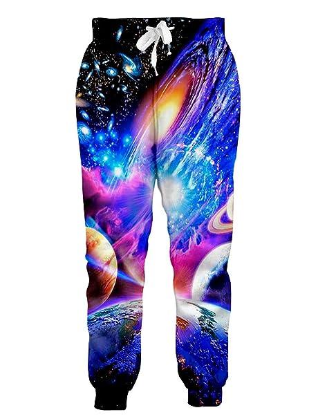 3D Galaxy Space para Hombre Trajes Sudaderas de Invierno Pantalón ...