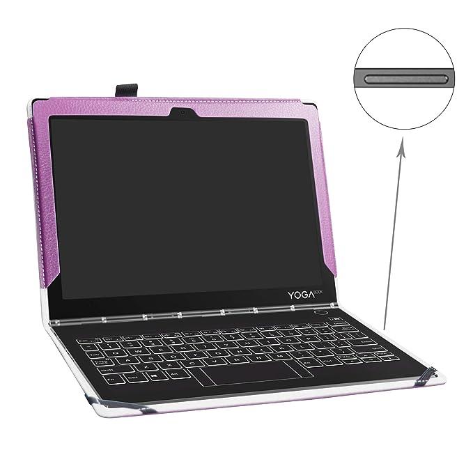 Funda de Piel sintética para Lenovo Yoga Book C930 Tablet de ...