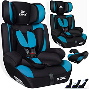 Autokindersitz Kinderautositz Sitzerhöhung 9-36 Kg Gruppe 1+2+3 Auto Sitz Kinder
