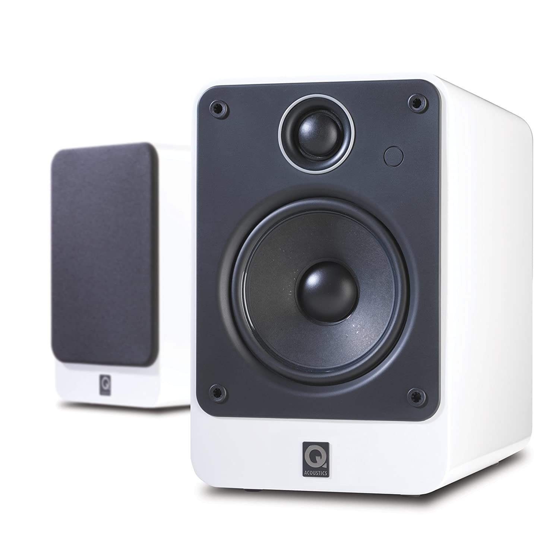 Best Bookshelf Speakers 2020 Q Acoustics 2020 Bookshelf Speakers (Gloss White only): Amazon.ca