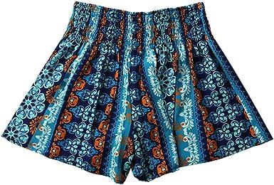 Tribal High Waist Shorts