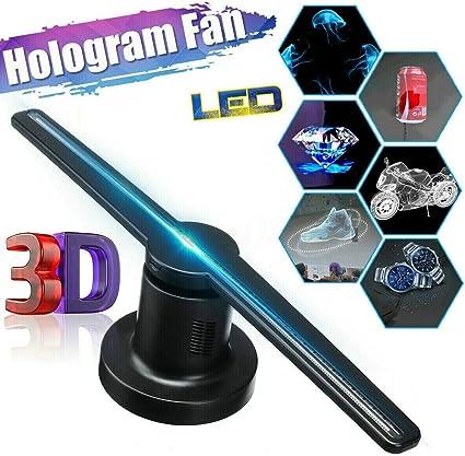 Amazon.com: Ventilador holográfico 3D Tech Ex con 244 ledes ...