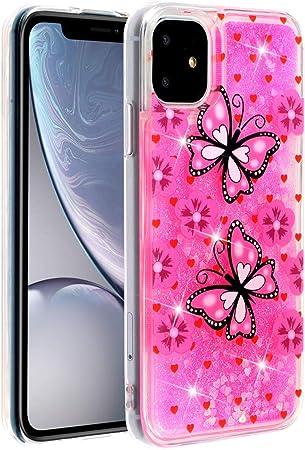 Qfun Für Iphone 11 Handyhülle Mit Glitzer Elektronik