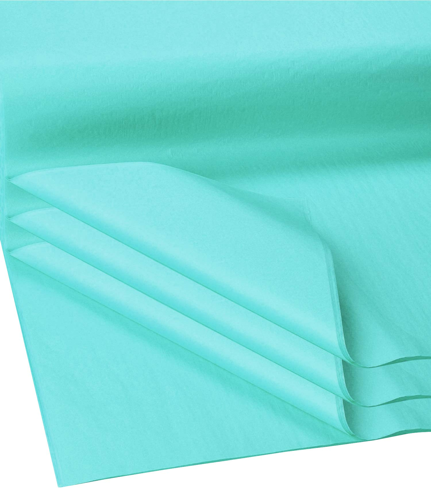 Flexicore Packging® | Gift Wrap Tissue Paper | Size: 15x20 | Acid Free (Aqua Teal, 100 Sheets)