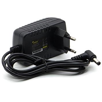 Cargador universal LEICKE ULL 12V 1A, 12Watt | Clavija de 5,5*2,5mm | Para Bose SoundLink Mini I/1, aparatos como impresora de etiquetas, impresoras, ...
