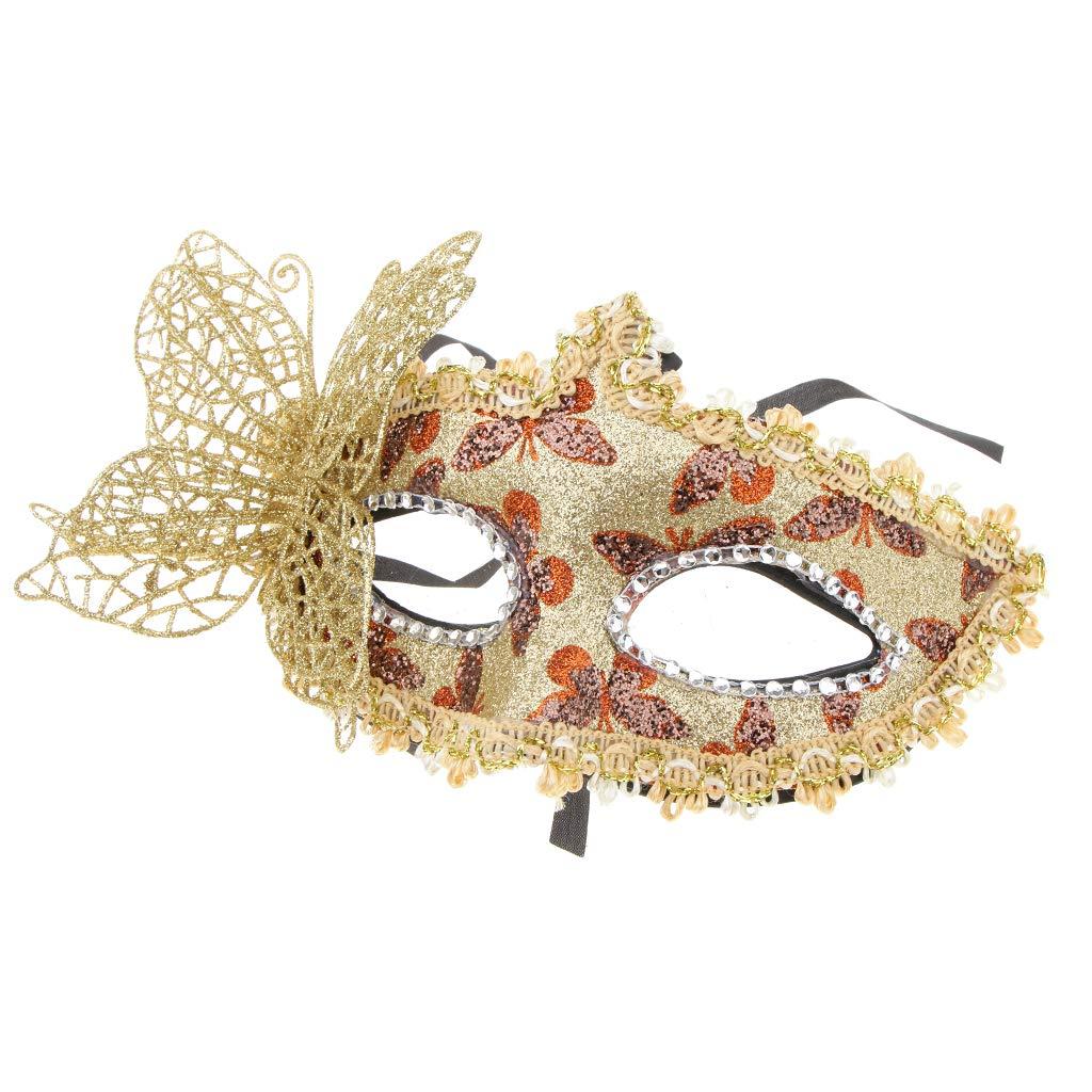 Sequins Design Venetian Masquerade Ball Costume Mask Cosplay Fancy Dress