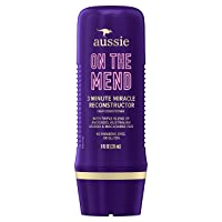 Aussie On The Mend 3 Minute Miracle Reconstructor Deep Conditioner, Triple Oil Blend...