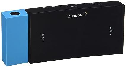 Sunstech FRDP3 - Radio despertador con proyector horario (USB de ...