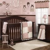 CoCaLo Daniella 8 Piece Crib Bedding Set, Pink