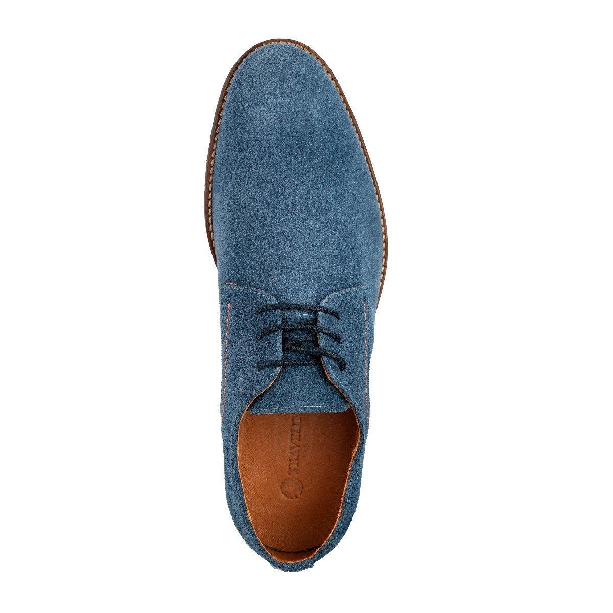Travelin' Manchester Suede Business Schuhe Herren     Schnürhalbschuhe   Freizeitschuhe   Herren Hochzeitschuhe   Anzugschuhe   Derby Lederschuhe Vielen Farben Hellblau d9f208