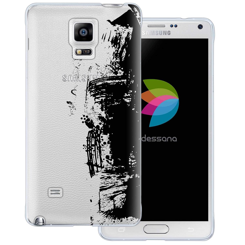 Amazon com: dessana Ink Transparent Protective Case Phone