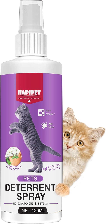 Inscape Data Cat Spray Deterrent, Cat & Kitten Training Aid with Bitter Anti Scratch Furniture Protector, Establish Boundaries & Keep Cat Off