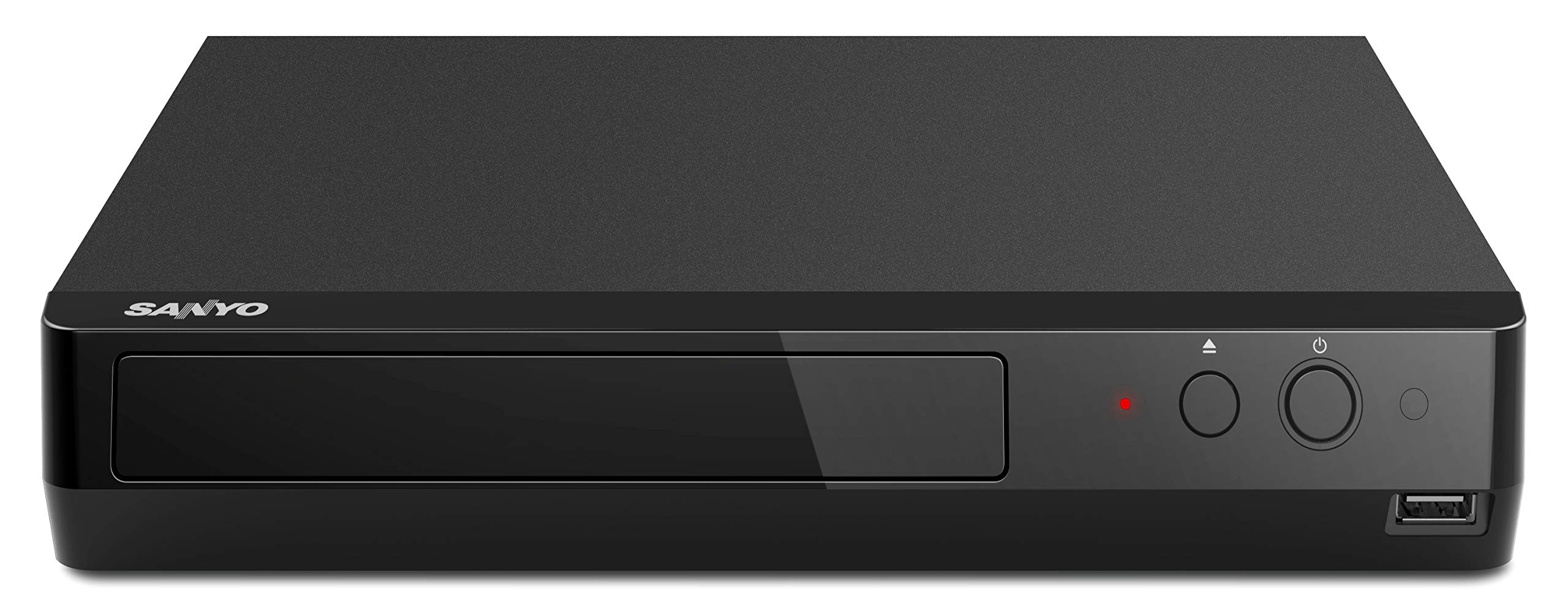 Sanyo 4K Ultra HD Blu-ray Player (Certified Renewed) by SANYO