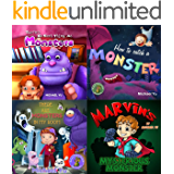 Monster Children's Picture Books (How to Catch a Monster and 3 more books about monsters)