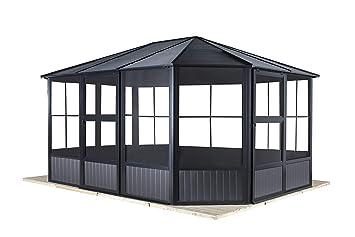 Amazon De Sojag Aluminium Pavillon Gartenlaube Wintergarten