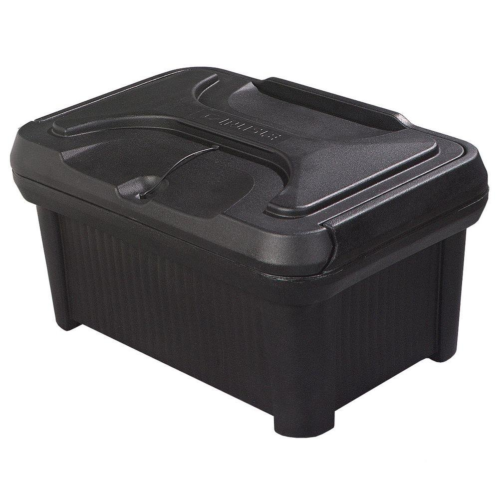 Carlisle Cateraide Revolutionary Slide N Seal Top Load Food Carrier,8 Inch Deep, Ergonomically Designed for Easy Loading Handling, Stacking and Storing