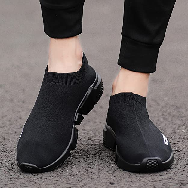 New Lovers Casual Knit Shoes Primavera/Otoño Transpirable/Ligero Calcetines Zapatos Hombres/Mujeres Calcetines Elásticos Sneakers EU Size: Amazon.es: ...