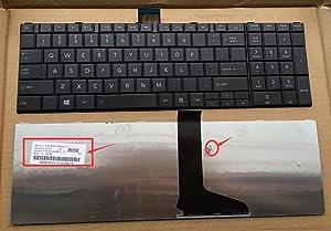 Sierra Blackmon New Keyboard for Toshiba Satellite C850 C850D C855 C855D L850 L850D L855 Laptop Series US Layout P/N:AER15U00310 V150924AS1 Black, Frameless Version