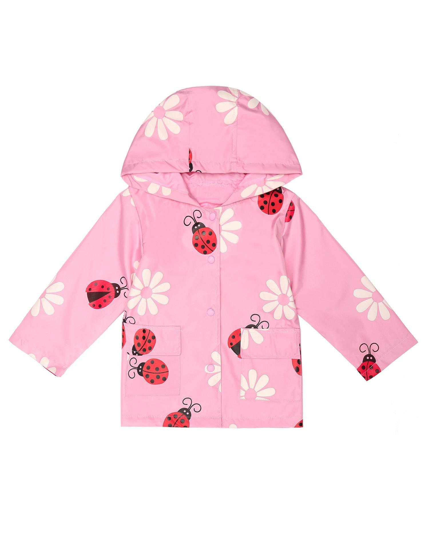 Bifast Baby Lightwight Jacket Outwear With Hooded Travel Trench Waterproof Raincoat