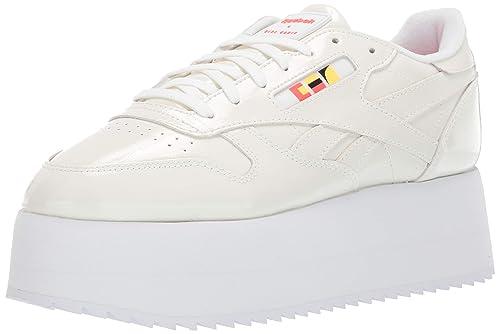 4ad5948d70 Reebok Women's Classic Leather Triple Platform Gigi Sneaker