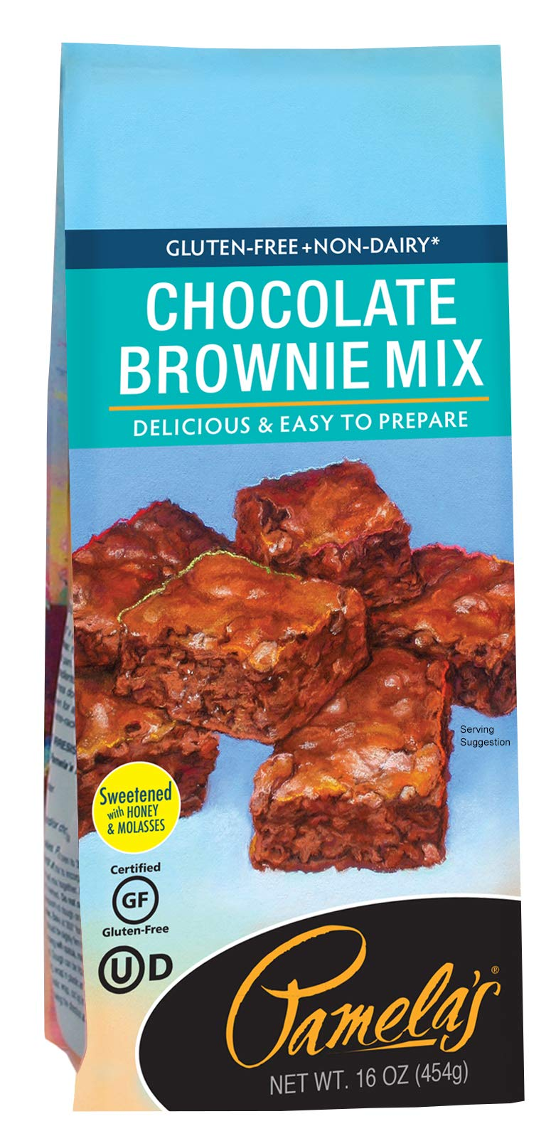 Pamela's Products Gluten Free Chocolate Brownie Mix, 16-Ounce Packages (Pack of 6) by Pamela's Products