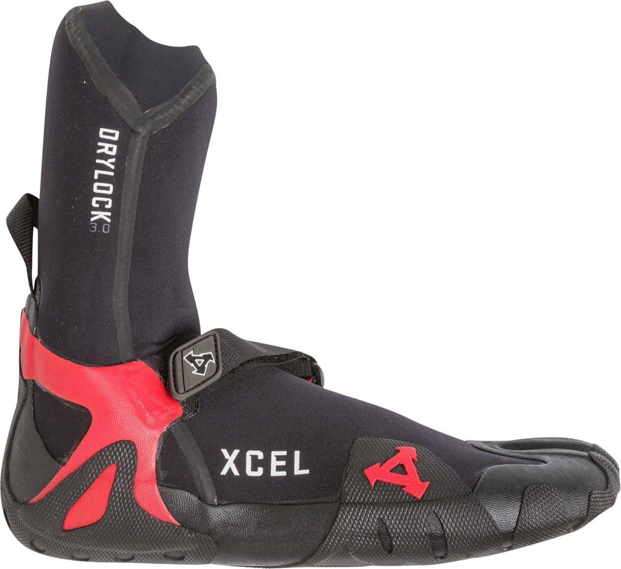 Black // 10 XCEL Drylock Split Toe Boot 3mm