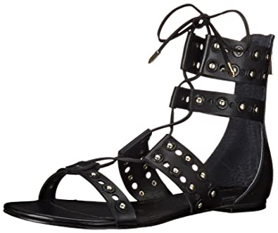 Ivanka Trump Women's Cathy Gladiator Sandal, Black, ...