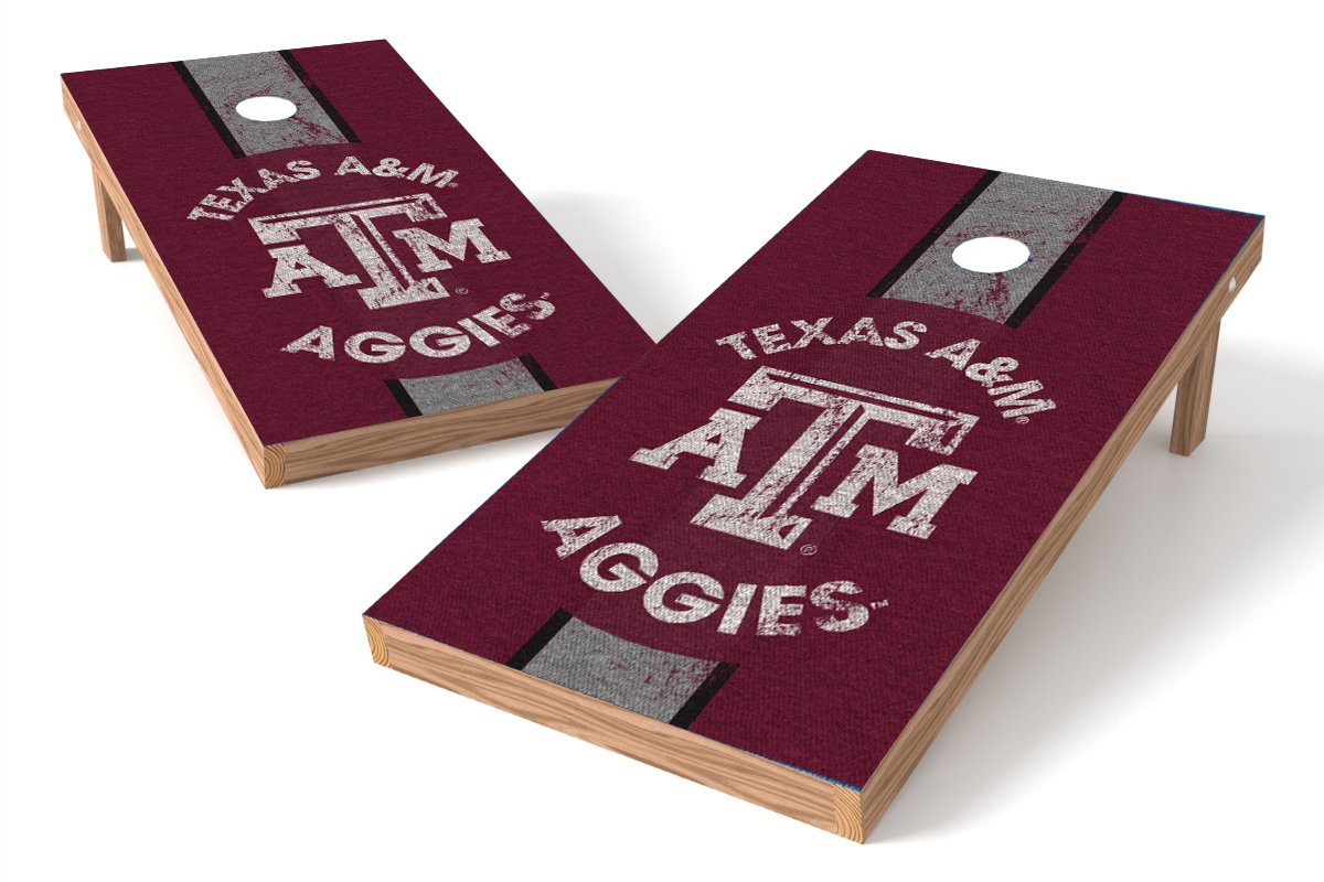 Wild Sports 2'x4' NCAA College Texas A&M Aggies  Cornhole Set - Heritage Design