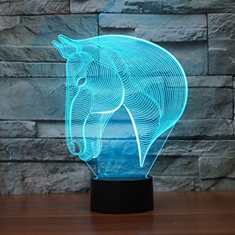 keeda 3d lampene, LED Touch lámpara de escritorio, lámpara ...