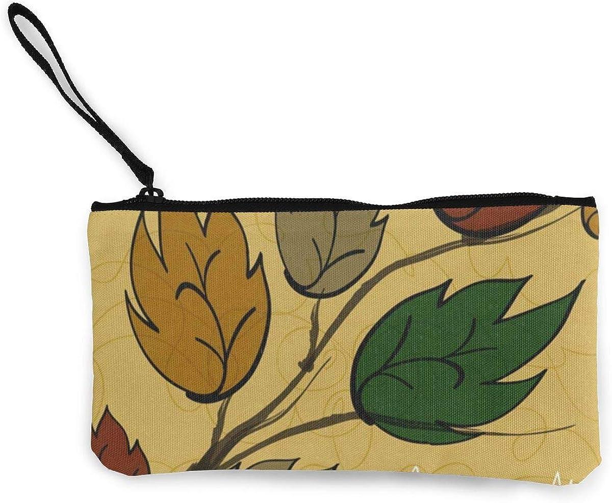 Coin Purse Autumn Leaves...