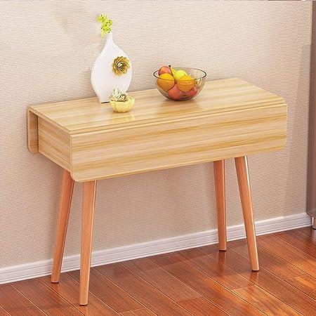 mesa plegable YH Doméstica Pequeño Apartamento Mesa De Comer ...