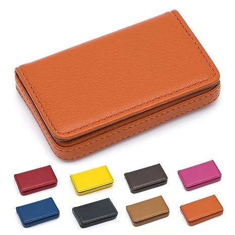 padike piel negocio nombre tarjeta cartera/Soporte Para 25 tarjetas 3.9L X 2,8