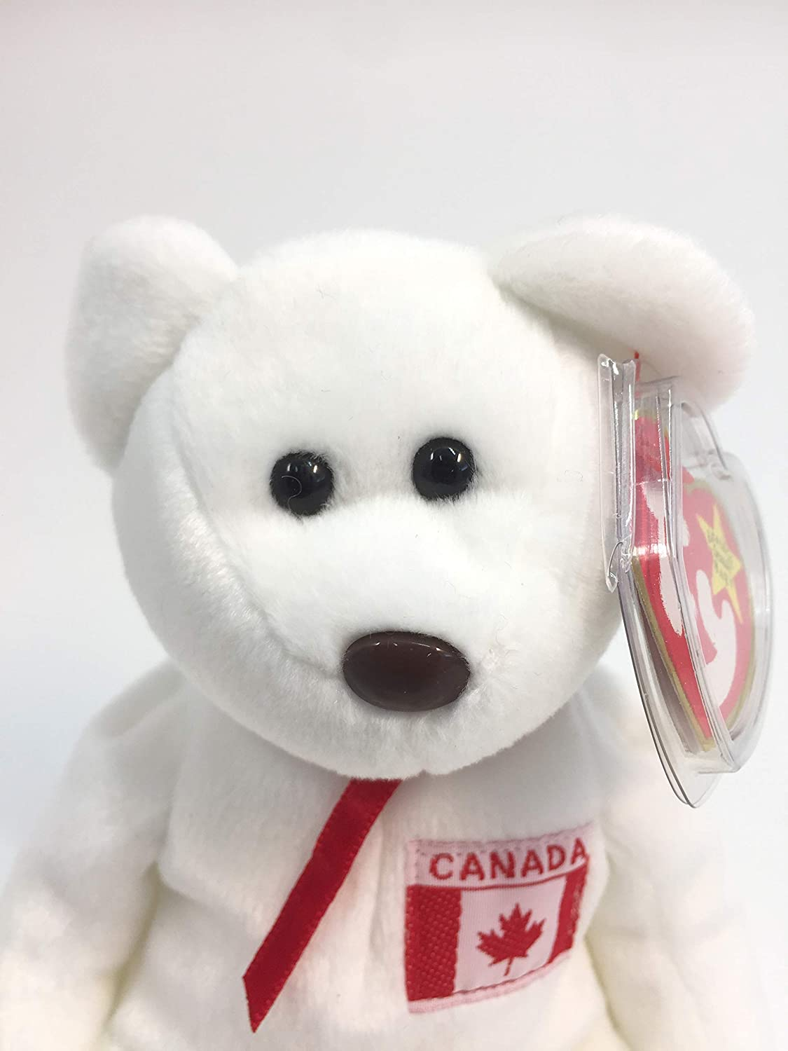 Amazon.com  Collectible Ty Beanie Babies - Maple The Bear  Toys   Games d26aed6e4