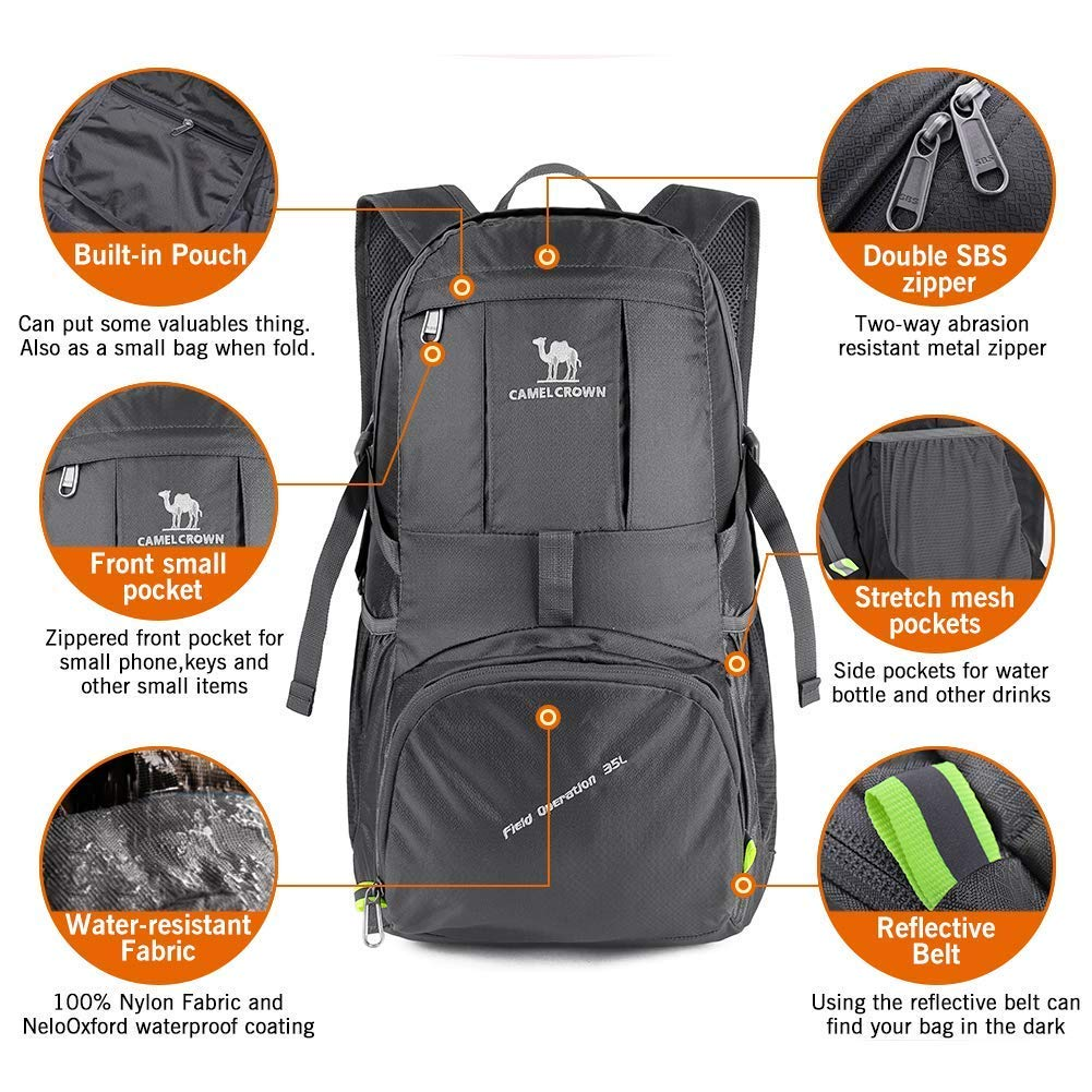 f66a4f746e5 Camel Waterproof Hiking Backpack | Building Materials Bargain Center