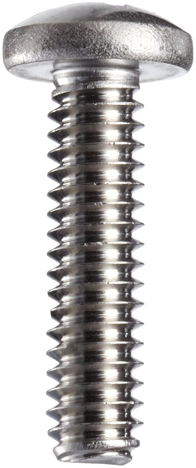 Stainless Steel Machine Screw Phillips Drive Pack of 100 #6-32 Threads Pan Head Plain Finish 1-3//8 Length 1-3//8 Length BRIGHTON-BEST INTERNATIONAL B000FN3R1Q
