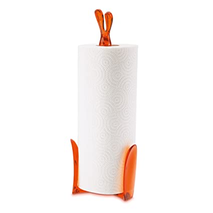 Koziol Roger 5226509 Orange Paper Towel Stand