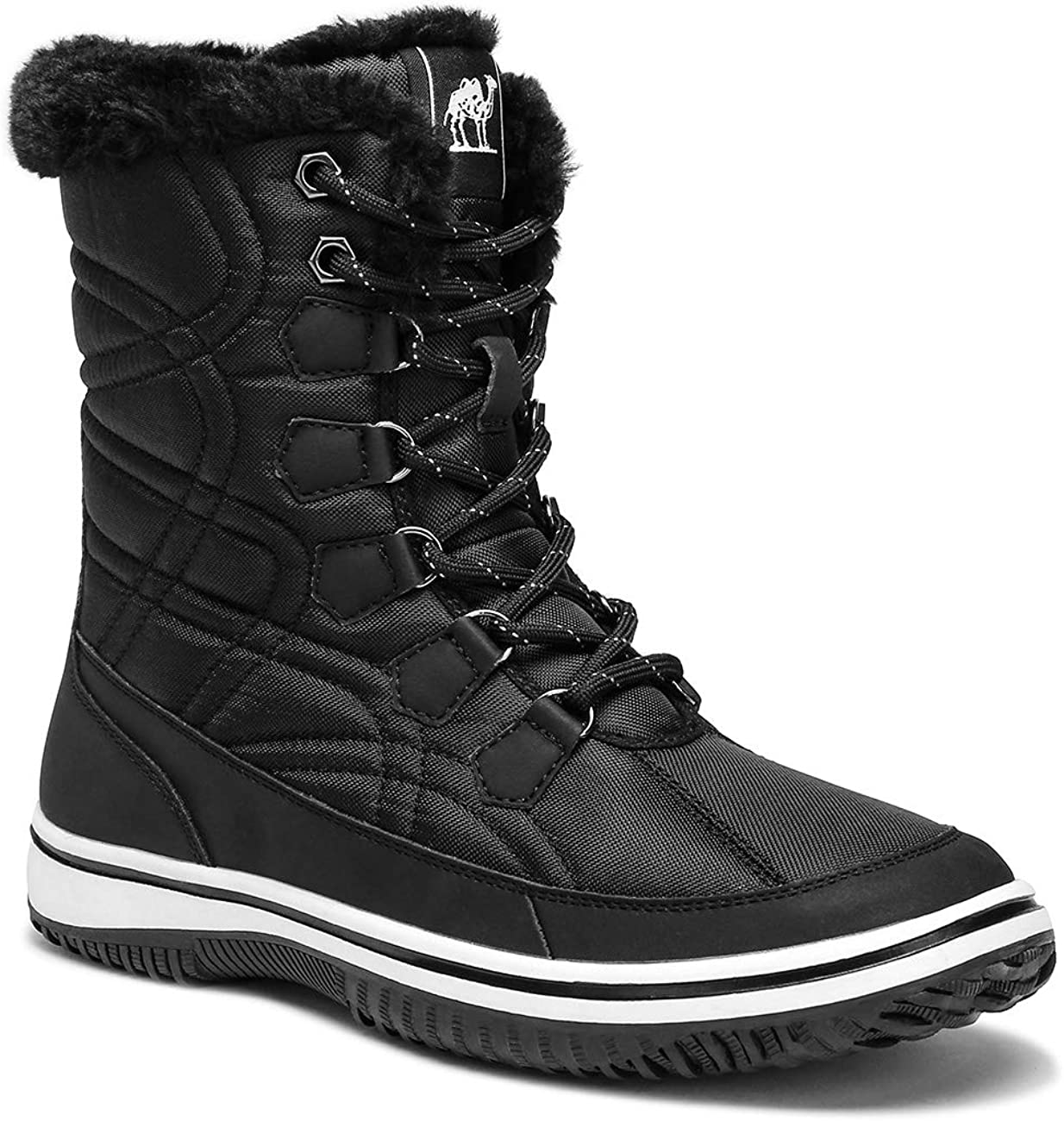 CAMEL Women's Winter Boots Thermal Snow
