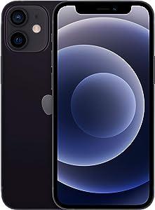 Apple iPhone 12 Mini, 64GB, Black - Fully Unlocked (Renewed)