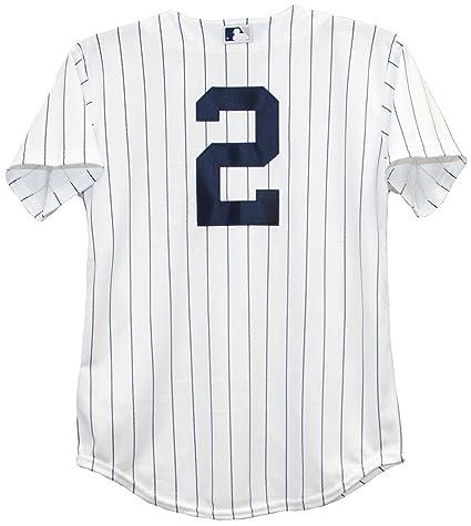 best service 05b17 8427a Pinstripe Jeter Home Youth Derek medium Clothing Yankees ...