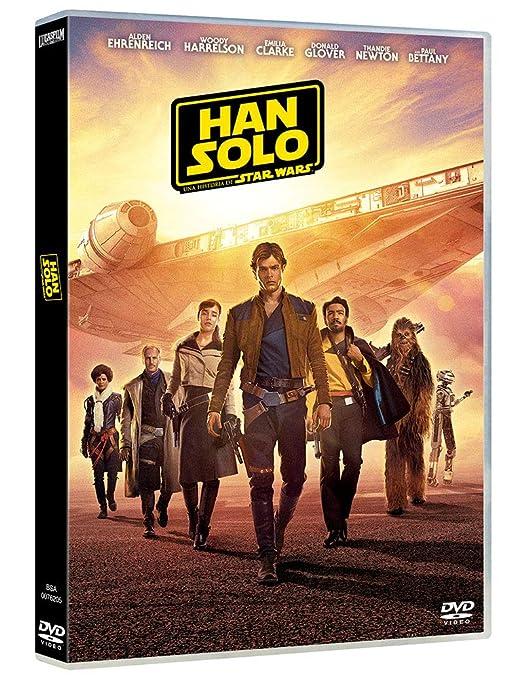 DVD Han Solo Una Historia de Star Wars: Amazon.es: Alden ...